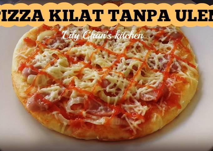 Resep Adonan Roti Pizza Kilat Tanpa Ulen Ala Lc Oleh Lily Chan S Kitchen Cookpad