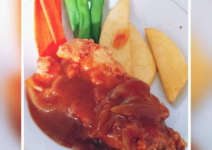 Resep Buka Puasa Sehat Steak Ayam