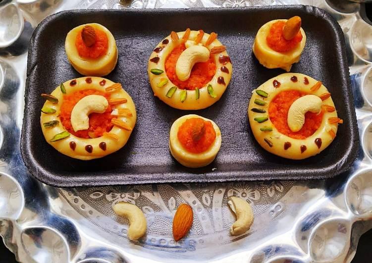 Recipe of Award-winning Carrot stuffed Peda
