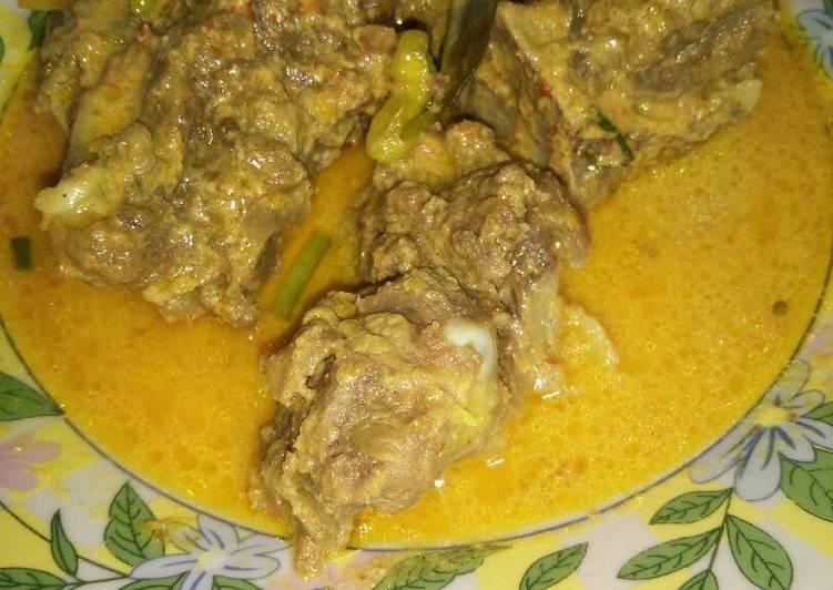 Tulangan sapi white curry