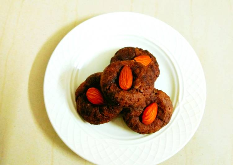 Recipe of Ultimate Healthy Chocolate and Ragi cookies