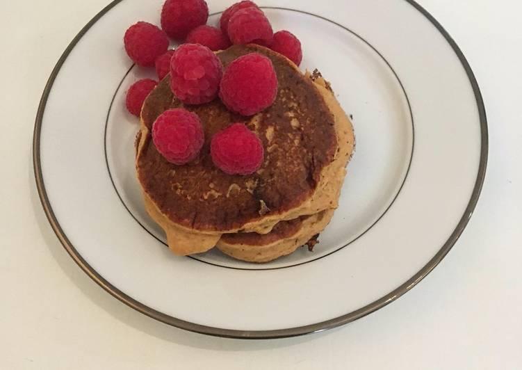 Le moyen le plus simple de Faire Délicieux Pancakes à la patate douce