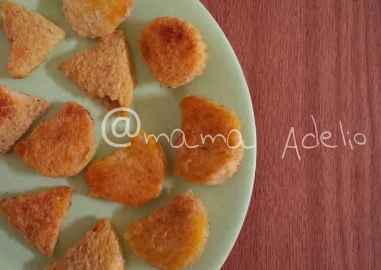 Resep Toasted cinnamon bread (toddler snack) untuk 1y+ Bikin Laper