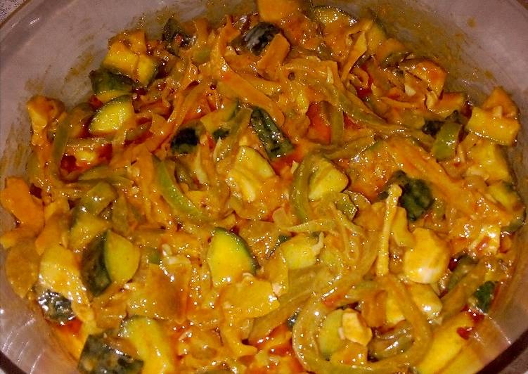 Easiest Way to Prepare Super Quick Homemade Atchar And Cucumber Salad