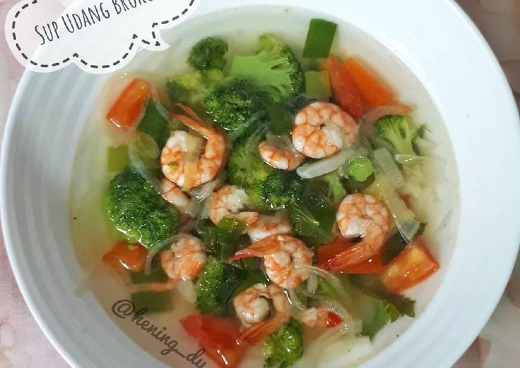 Sup Udang Brokoli