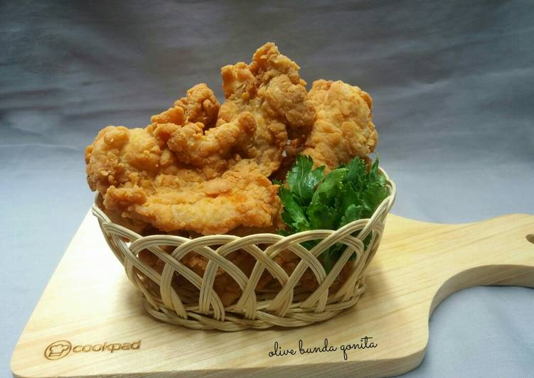 Ayam fillet krispi #selasabisa