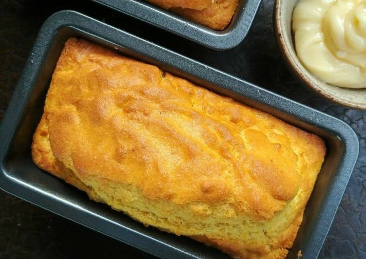Cornbread with Honey Whipped Butter