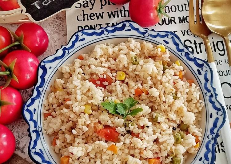 Resep Nasi Gurih Tomat Bikin Ngiler