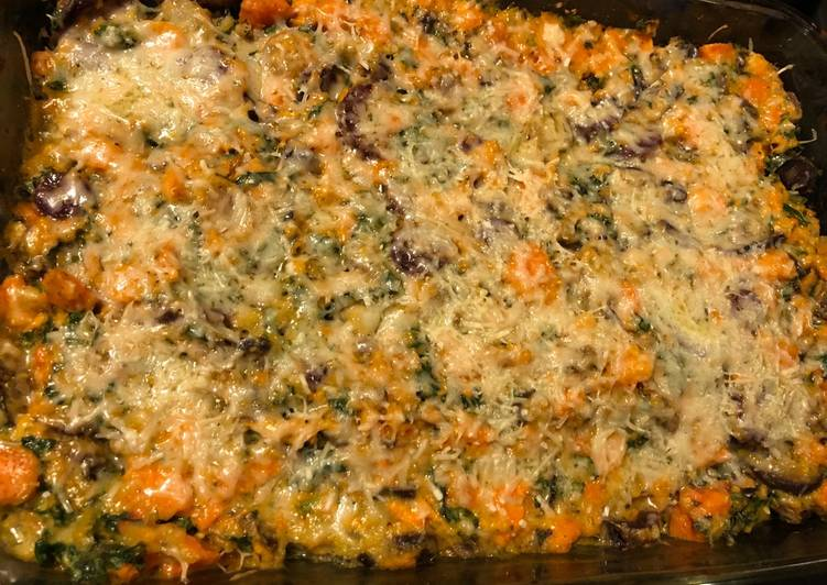 Steps to Make Quick Vegetable bake 1
