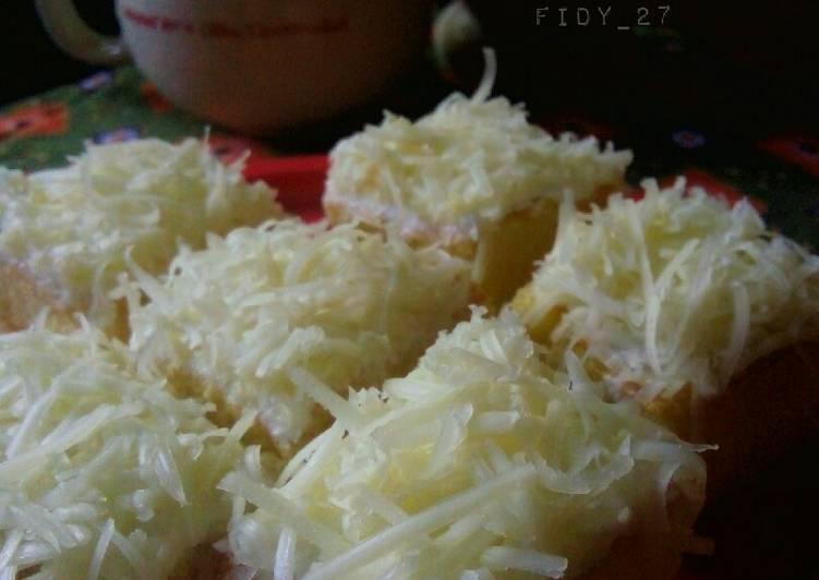 resep masak Bolu Panggang Tabur Keju - Sajian Dapur Bunda