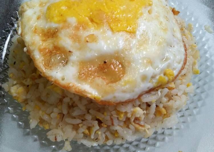 Resep Nasi goreng telur Anti Gagal