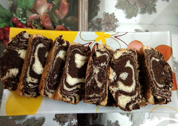 Marble cake no egg no butter