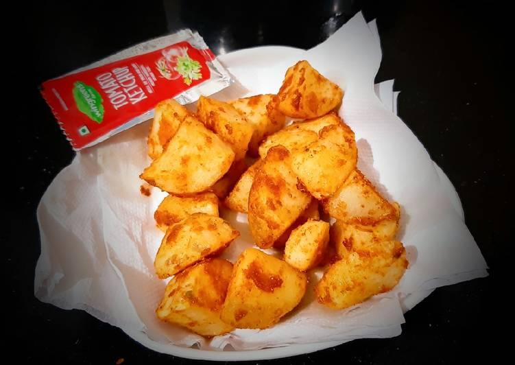 Simple Way to Make Favorite Potato wedges