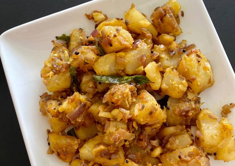 Steps to Prepare Any-night-of-the-week Karthi's potato fry