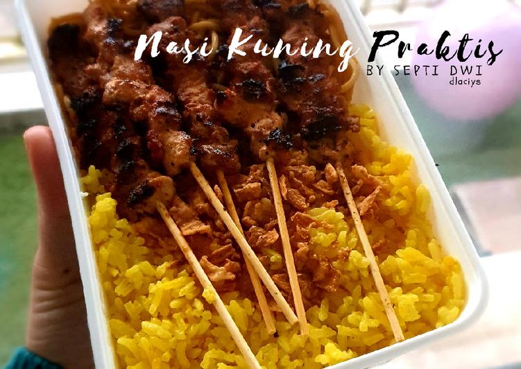 Nasi Kuning Praktis Rice Cooker Menul (versi 2) - cookandrecipe.com