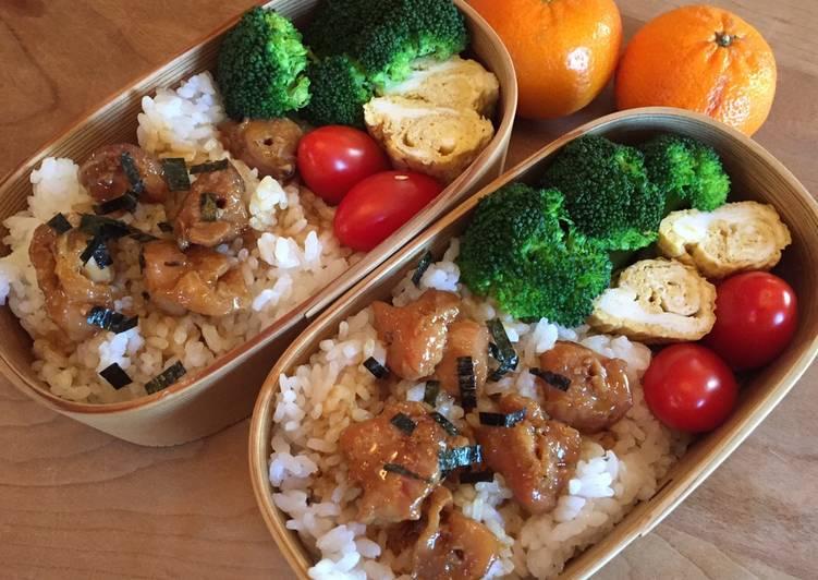 焼き鳥弁当 Yakitori Bento Box