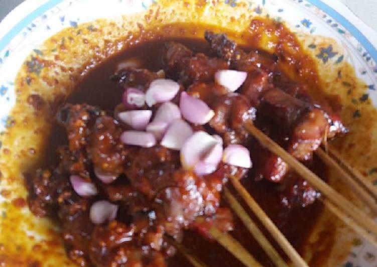 Resep Sate Kambing Bumbu Kacang (#Pr_dibumbukacangin) Top