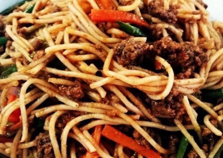 Whosayna's Spaghetti Bolognese