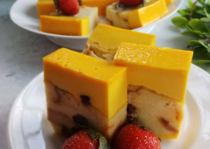 Butterscoth creamy bread pudding
