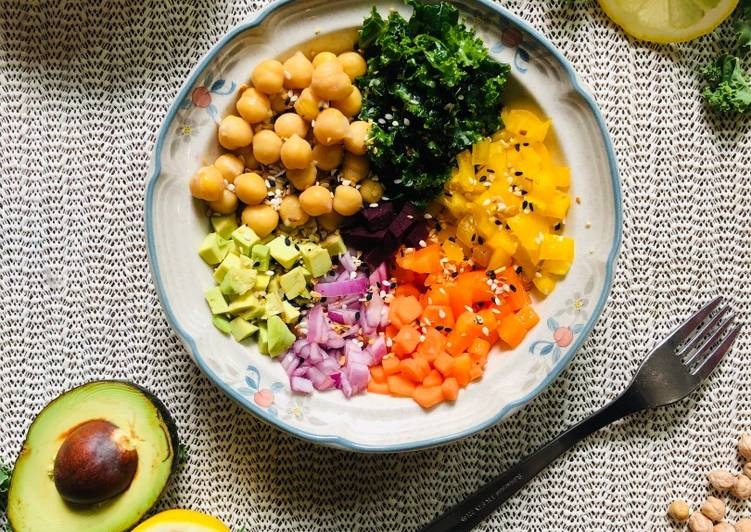Step-by-Step Guide to Make Ultimate Kale Chickpea salad