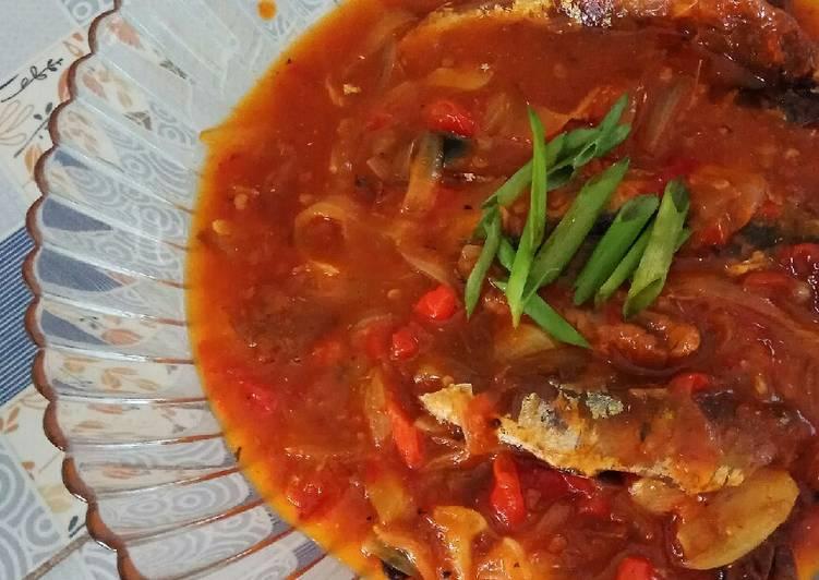 Tumis Ikan Sarden Kaleng