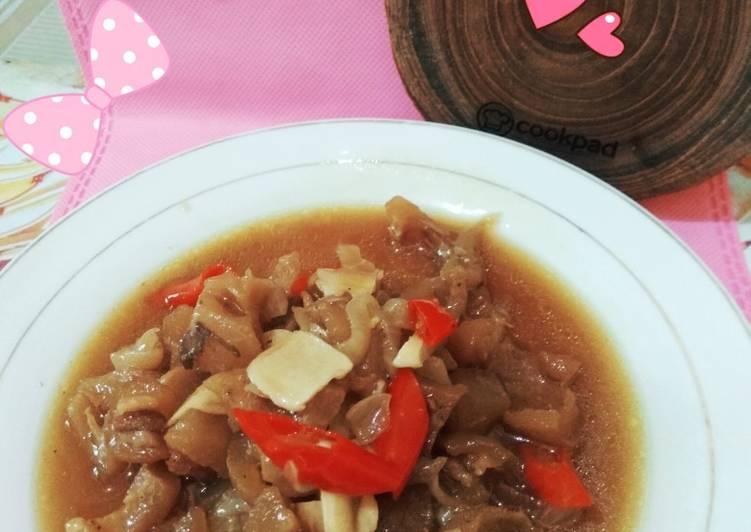 Kikil sapi masak kecap - cookandrecipe.com