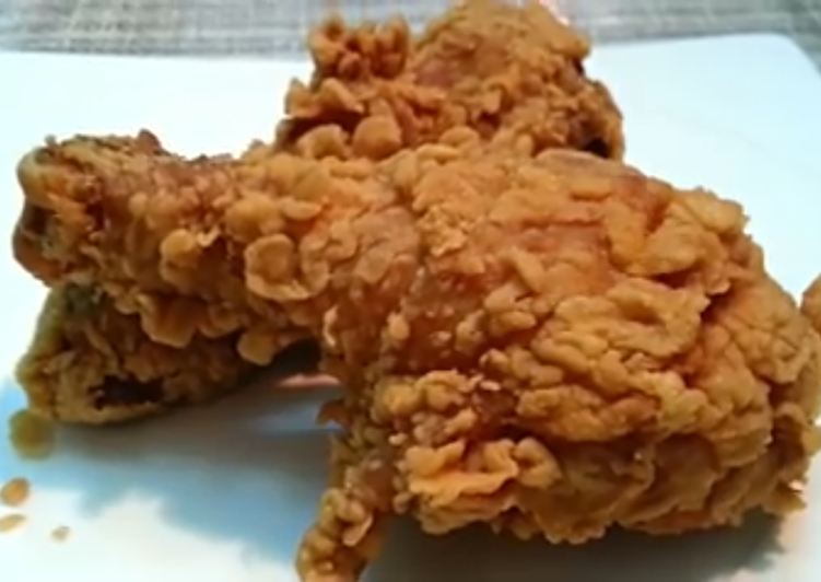 Crispy Fried Chicken and Garlic sauce