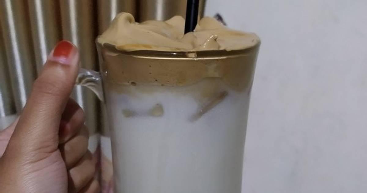 Resep Dalgona coffee tanpa mixer/whisk oleh Aprillia ...