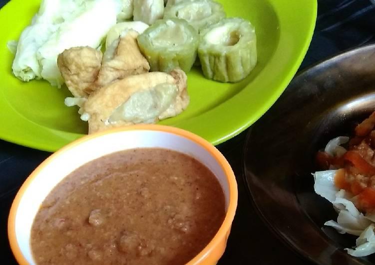 Cara Gampang Masak Sambal Kacang untuk Siomay/Cilok/Batagor Low Budget buat Jualan, Lezat Sekali