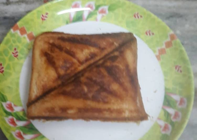 Paneer capcicum carrot sandwich