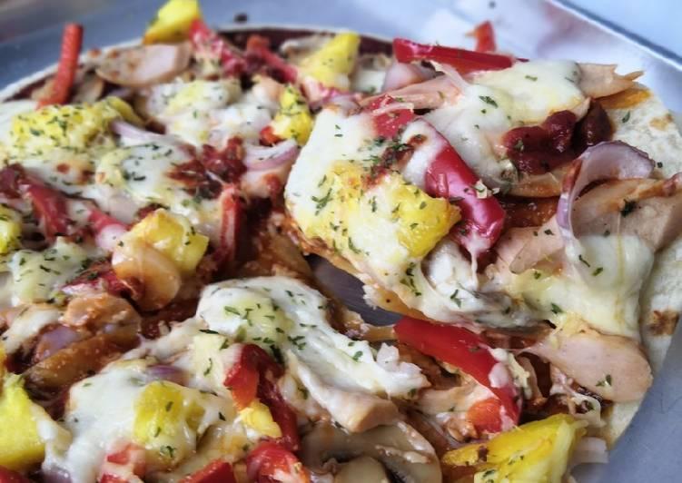 Cara Mudah Masak: Pizza mudah  Termudah