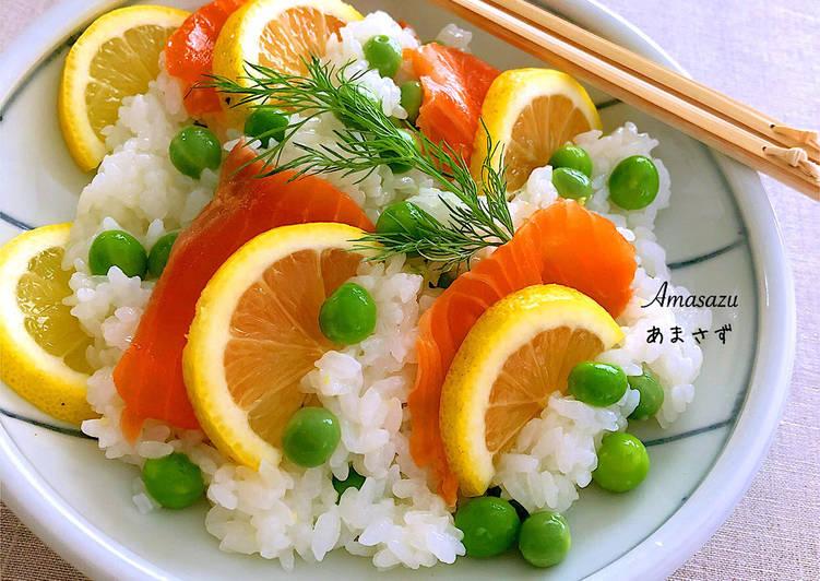 Ricetta Chirashi sushi al limone