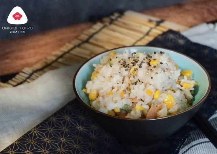 Tuna Corn Riceコーンとツナの炊き込みご飯