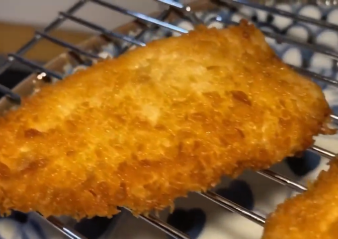 Simple Way to Make Speedy Tonkatsu / Chicken katsu
