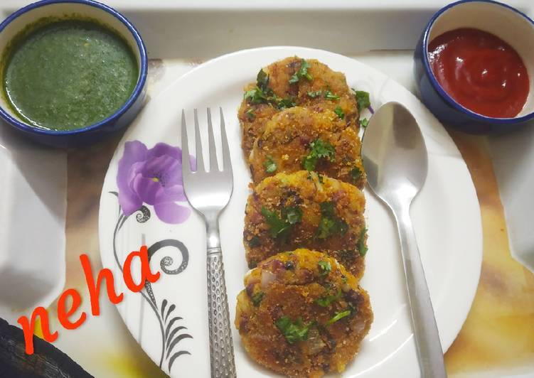 Recipe of Perfect Kidney Beans Cutlets
