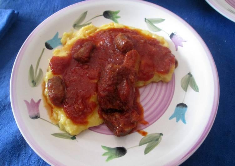 Recipe: Appetizing Polenta con sugo di maiale