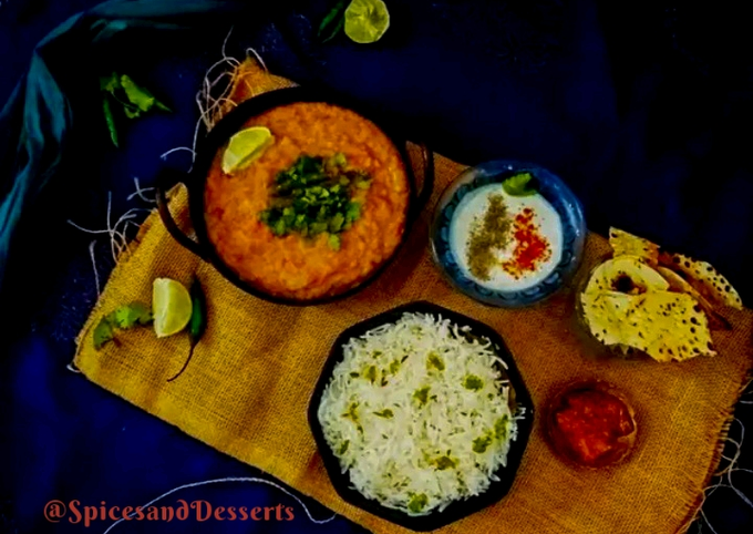 Steps to Prepare Homemade Jeera Rice and Dal Fry