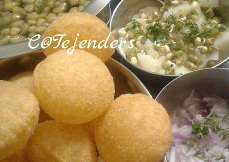 30 Minute Step-by-Step Guide to Prepare Super Quick Homemade PANI PURI  Mumbai style