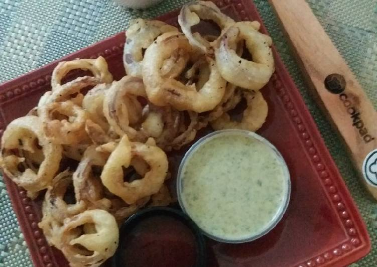 Recipe of Any-night-of-the-week Onion rings