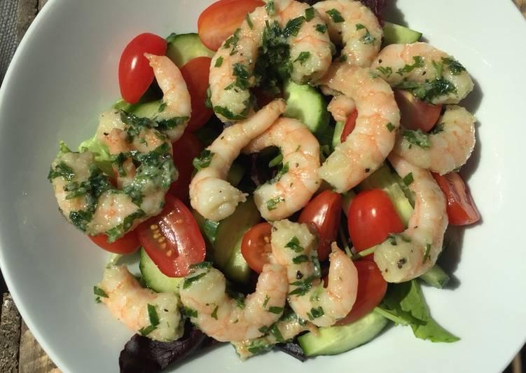 How to Prepare Delicious Quick prawn salad