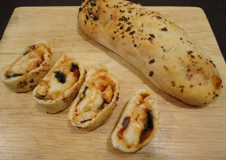 Recipe of Homemade Spicy Chicken Stromboli