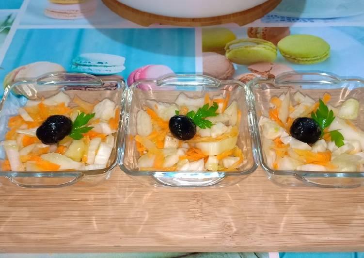 Comment Cuisiner Savoureux Salade de fenouil