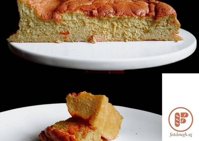 Feast of Seven Fishes VII - Tamagoyaki Pretending To Be Sponge Cake