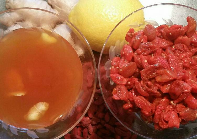 Goji Berries Rehydrating Recipe By Kelly Cookpad