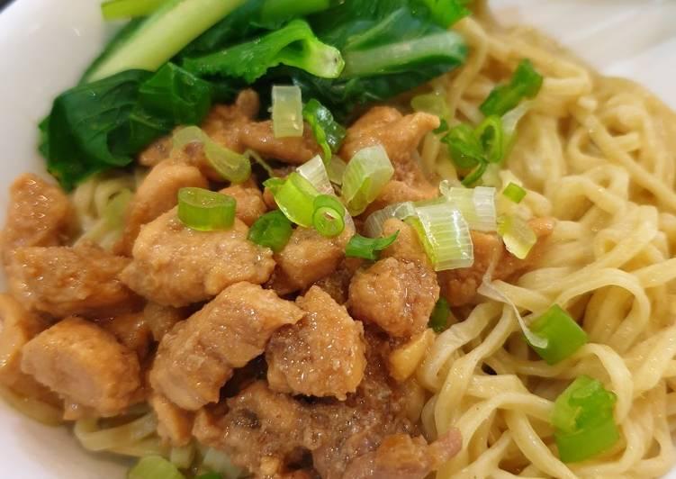 Resep Mie Ayam Yang Simple Sedap
