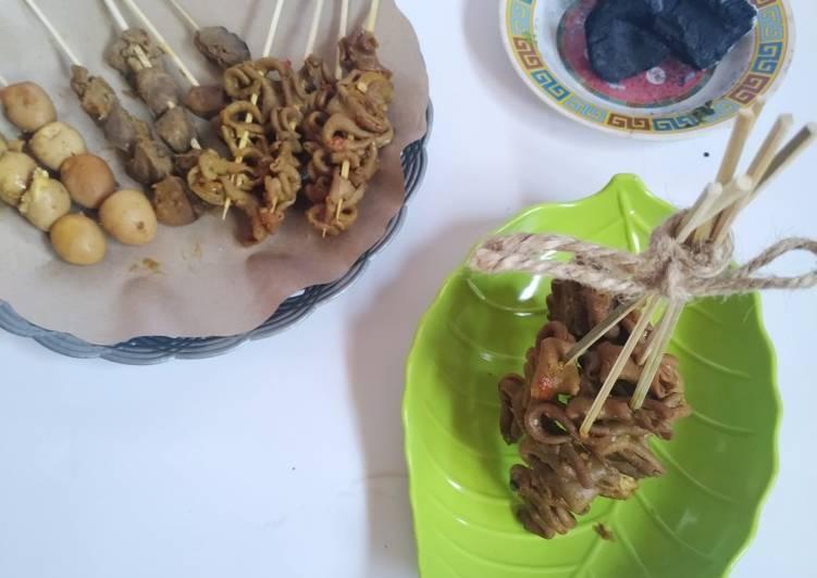 Sate Usus Ala Angkringan