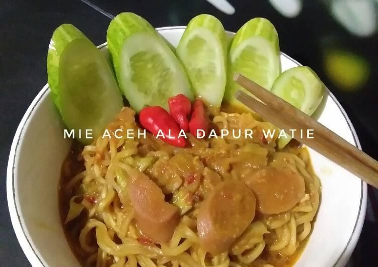 Mie Aceh ala dapur watie
