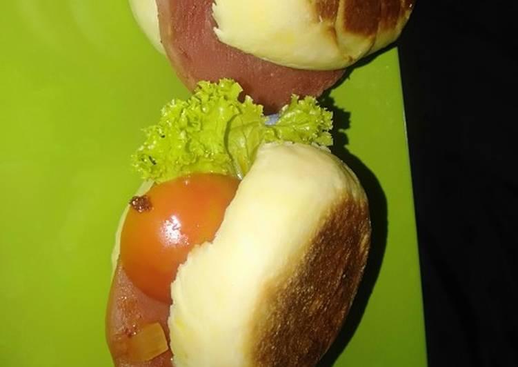 Resep English muffin 2 Terbaik