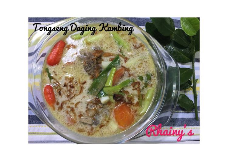 Tongseng Daging Kambing