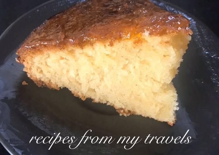 REVANI CAKE (Greek coconut cake)